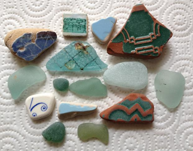 Beachcombing Treasures